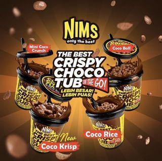NIMS CRISPY CHOCO TUB🤤