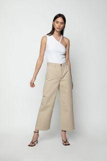 Oak and Fort Beige Jeans