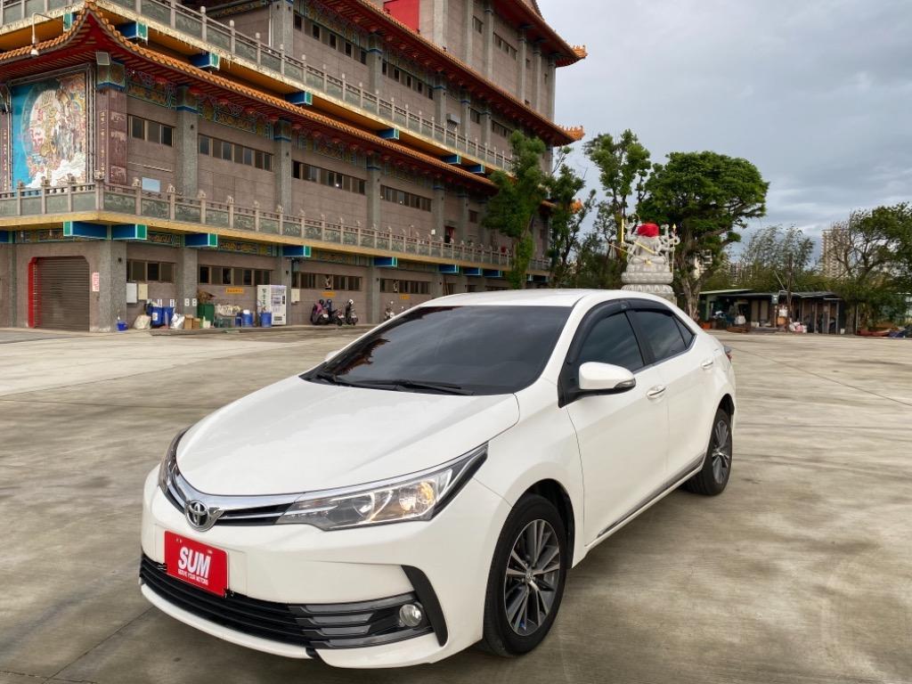 Toyota 豐田 altis 2018年