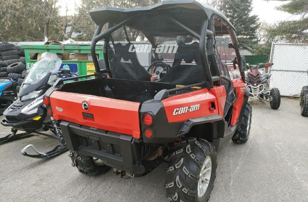 2013 can am commander 3115km 1000cc