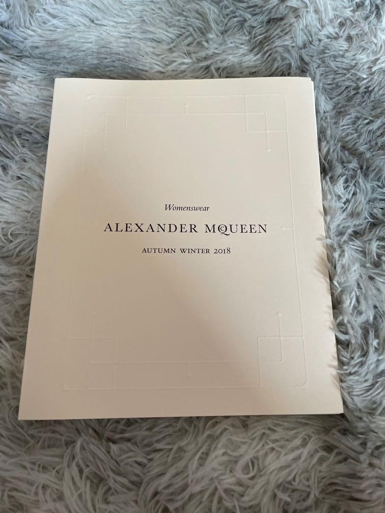 2018 Alexander Mqueen 女裝