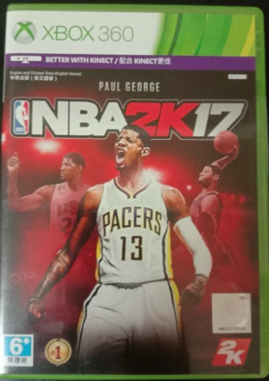 中文版 NBA 2K17 XBOX 360 美國職籃 XBOX360