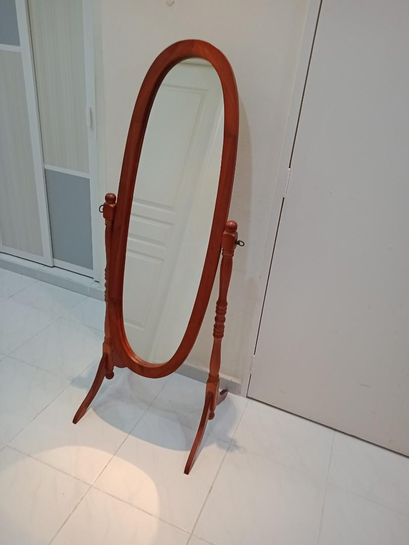 Antique Standing Mirror Furniture Others On Carousell