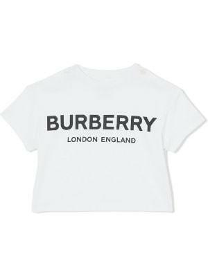 Burberry Cotton Logo T Shirt