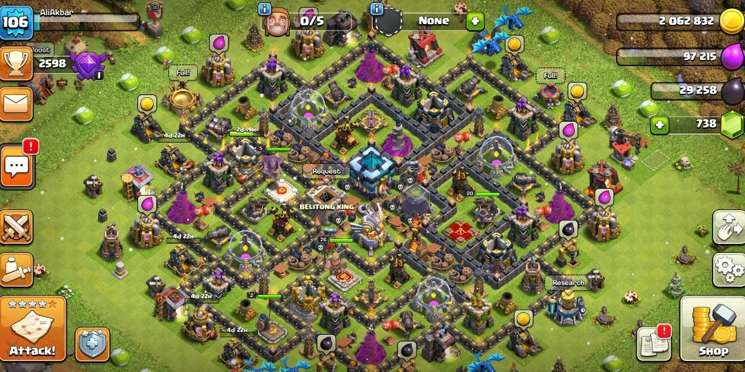 Clash Of Clans Th13 b1