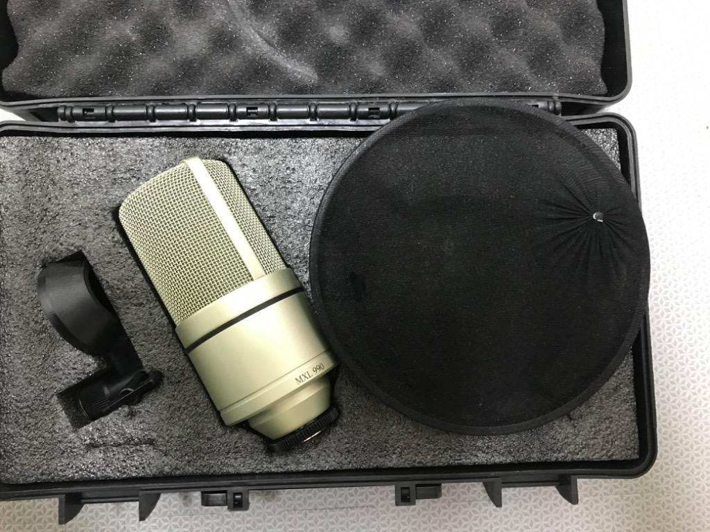Condensator Microphone - Mic MCL 990 Microphone - almost new