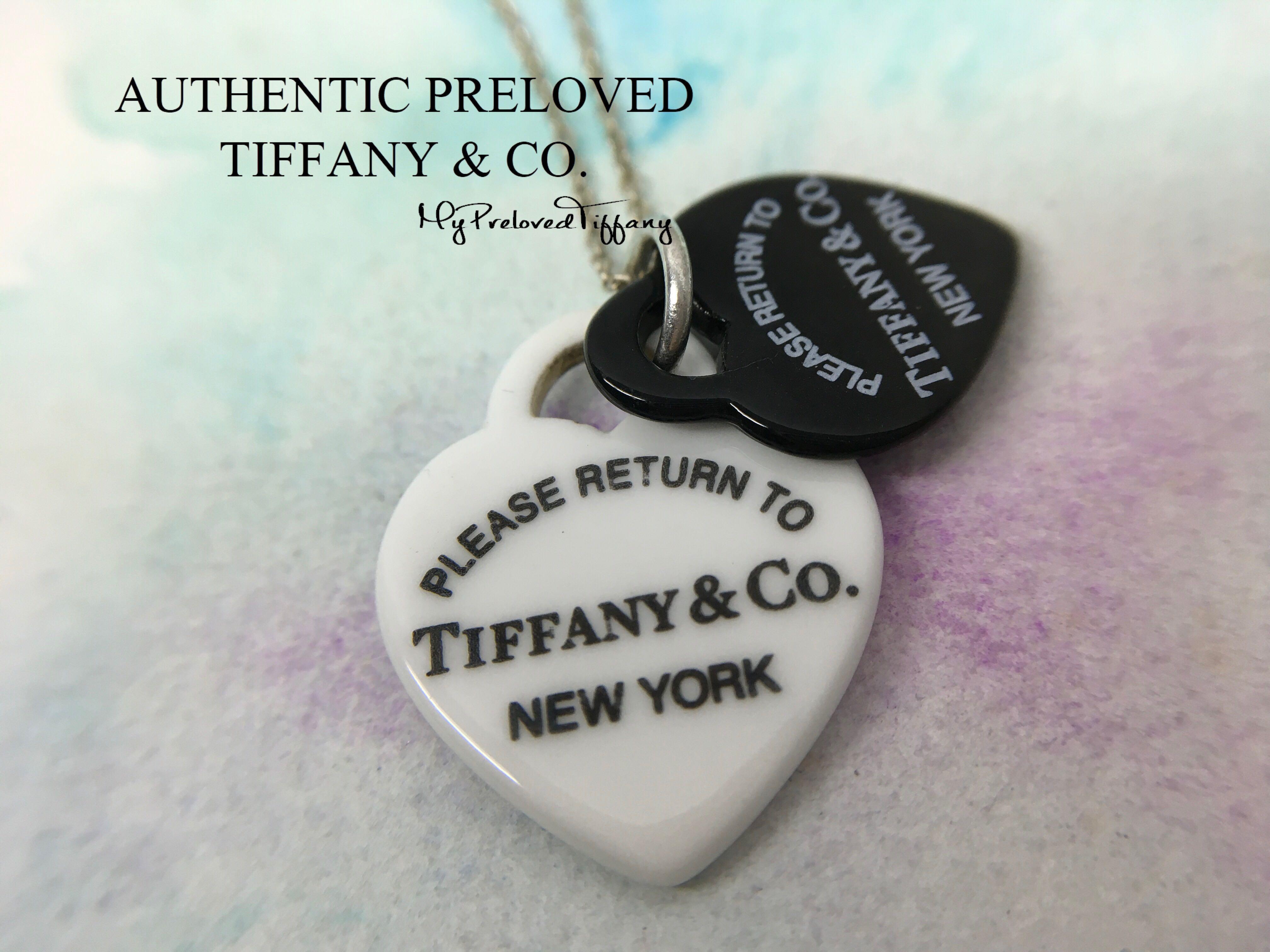 "black//white design pendant 18/"" Black Mini Beads Necklace and  Pendant in Bone"