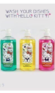 Hello Kitty Dishwashing Liquid