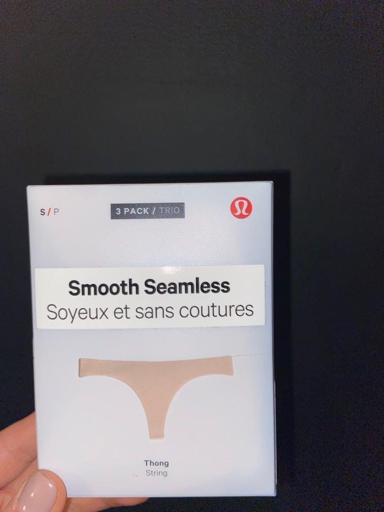 Lululemon Smooth Seamless 3pck