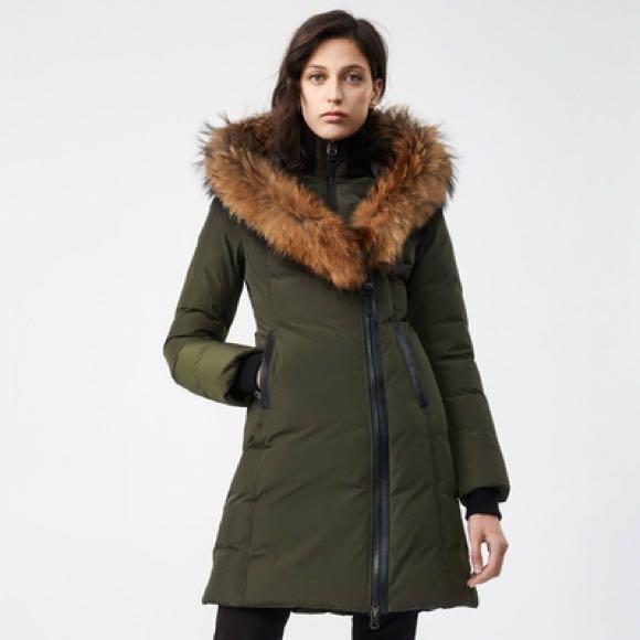 Mackage Kay Olive Winter Down Jacket