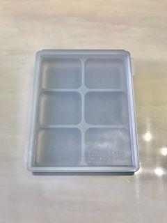 矽膠副食品分裝盒 2個