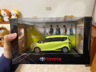 MAYDAY 五月天 TOYOTA SIENTA 模型車