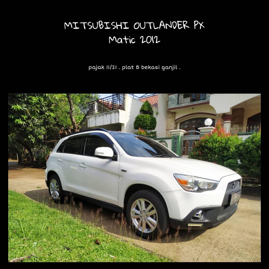 Mitsubishi outpander px matic 2012