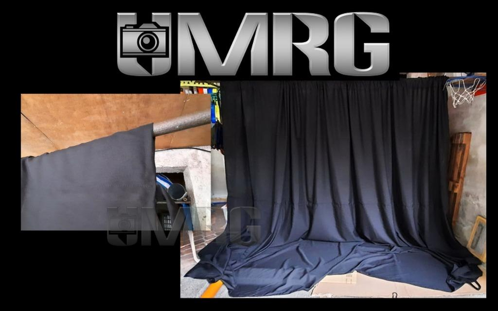MRG Black Backdrop