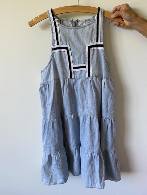 OneTeaspoon Faded Denim Dress1
