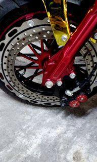 "Qs motor 12""hub and front mags big disk for sale kabayan rs. Change color plan bagong bago pa 3weeks old"
