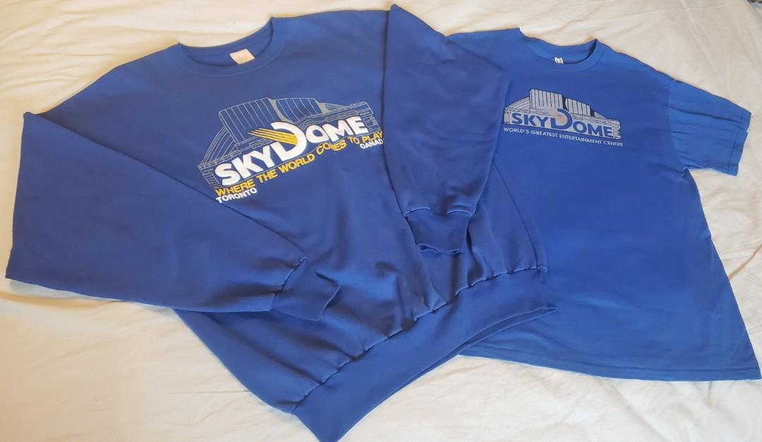 Rare TORONTO Skydome Crewneck Sweater and Tee