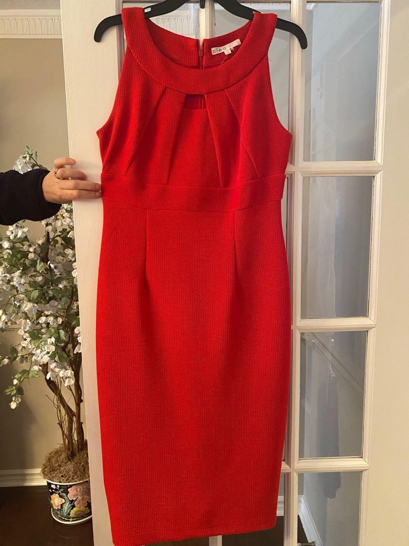 Red Cleo Dress