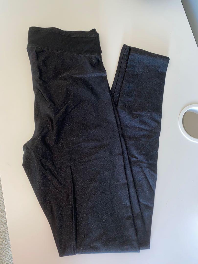 Shiny high waisted leggings