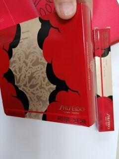 正貨shiseido最新東京銀座一套三款唇膏及眼睫毛液