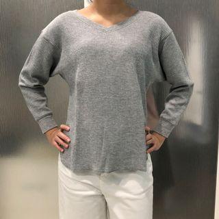 Uniqlo Sweater Tipis Abu Size S