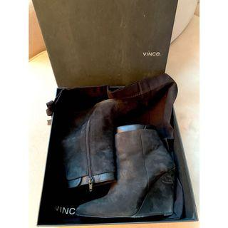 VINCE Wedge Ankle Boots