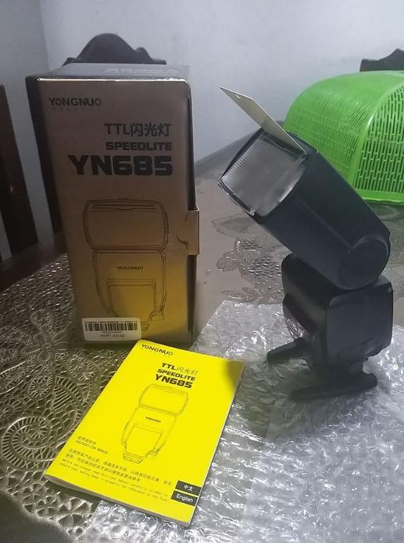 Yongnuo YN685 HSS TTL external flash for Nikon DLSR