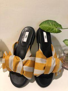蝴蝶結拖鞋