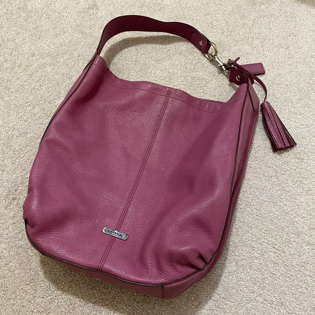 Authentic Coach Avery Hobo Shoulder Bag