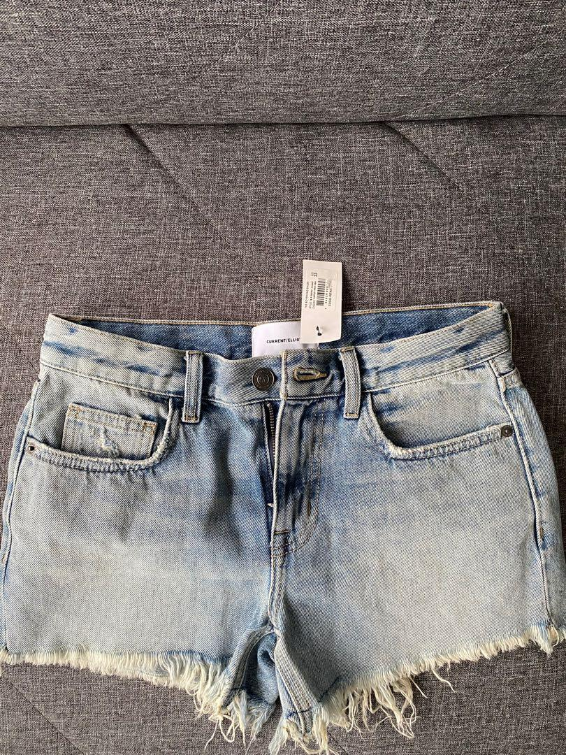 BNWT Current Elliot Denim Shorts