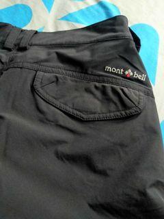 Celana gunung 7/8,warna hitam pekat