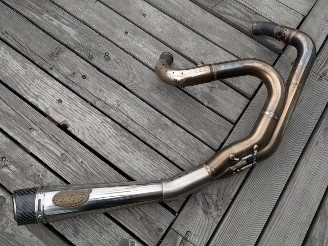 Harley-Davison Sportster  RSD 排氣管 全段