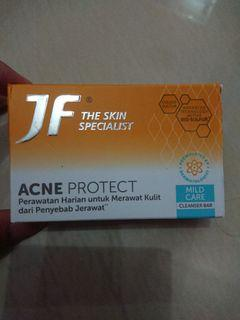 JF Cleanserbar  Acne Protect Blue Expression 90 gr
