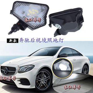 Mercedes side mirror led welcome light w212
