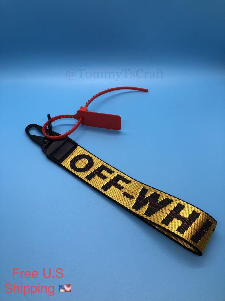 Offwhite Inspired Lanyard Keychain