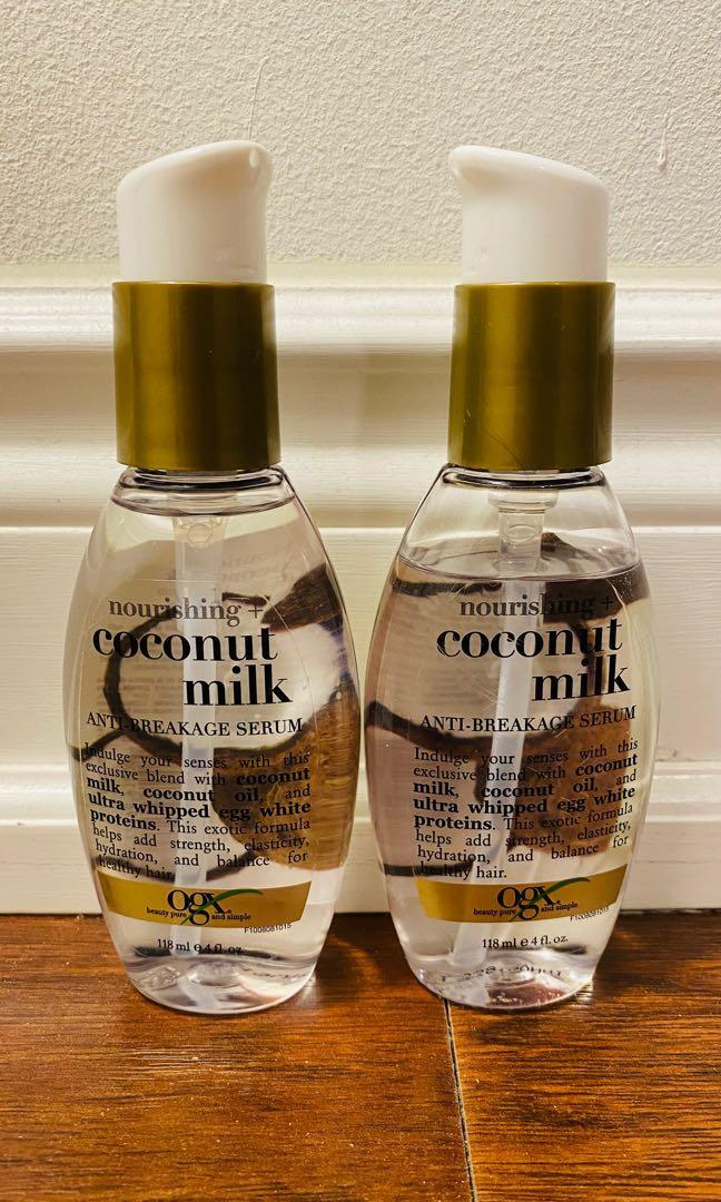 OGX Nourishing+ Coconut Milk Anti-Breakage Serum