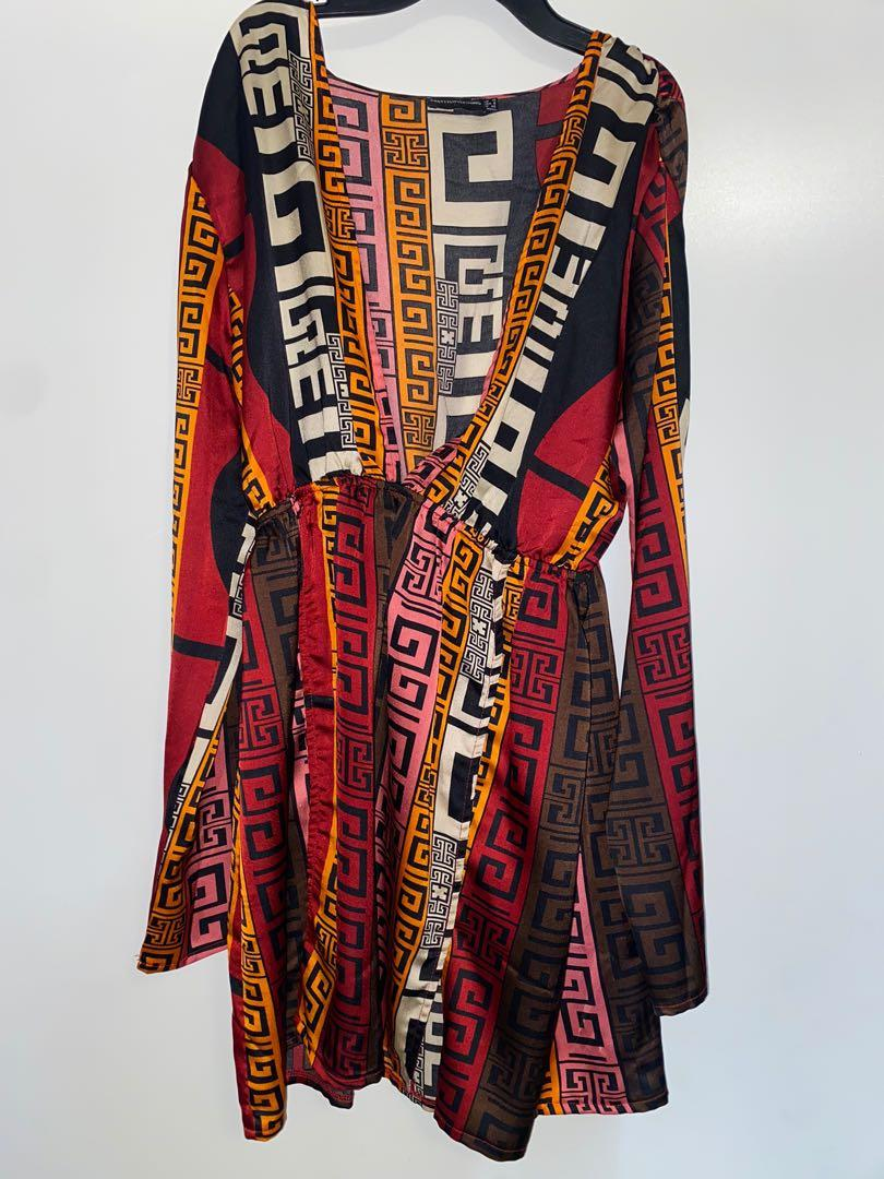 Pretty Little Thing Aztec Dress