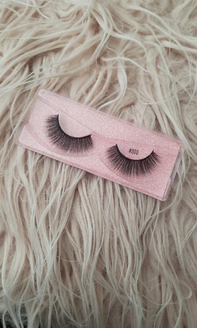 Real mink hair false eyelashes(BLOOM)STYLE: #500