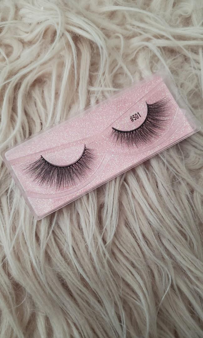 Real mink hair false eyelashes(ANGELIC)STYLE: #501