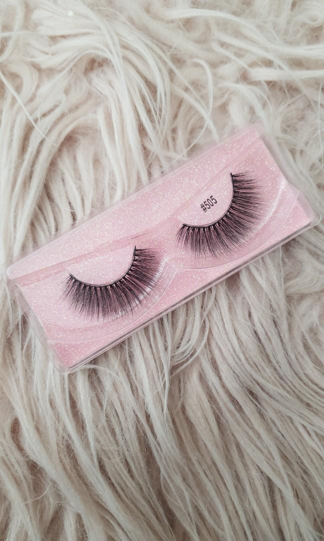 Real mink hair false eyelashes(DEVINE)STYLE:#505