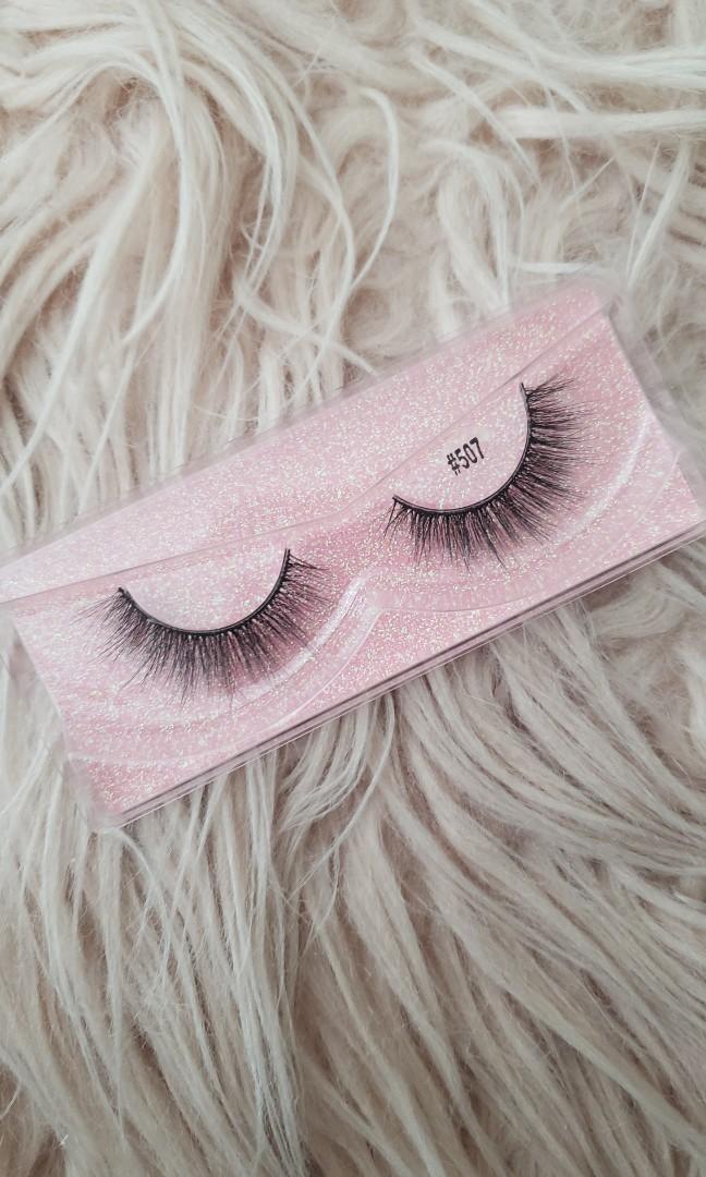 Real mink hair false eyelashes(HARMONY)STYLE:#507