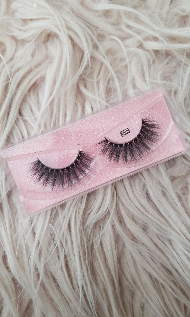 Real mink hair false eyelashes(MAJESTY)STYLE:#509