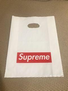 正品專櫃supreme手提外袋