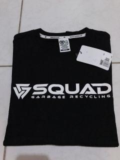 短T 黑色短袖 squad