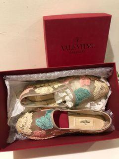 VALENTINO透視漁夫鞋