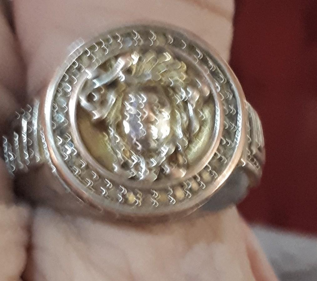 Versace bracelet & ring