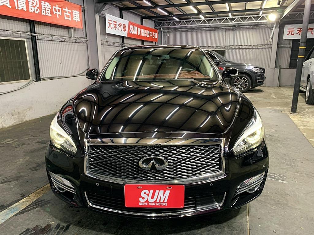 正2016年出廠 INFINITI 英菲尼迪 Q70 超貸 找錢 實車實價 全額貸 一手車 女用車 非自售 里程保證 原版件