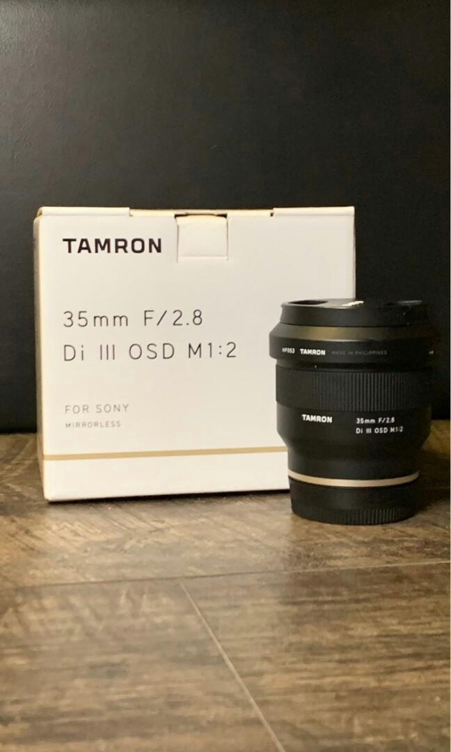 騰龍35mm f / 2.8 Di III OSD M 1:2鏡頭