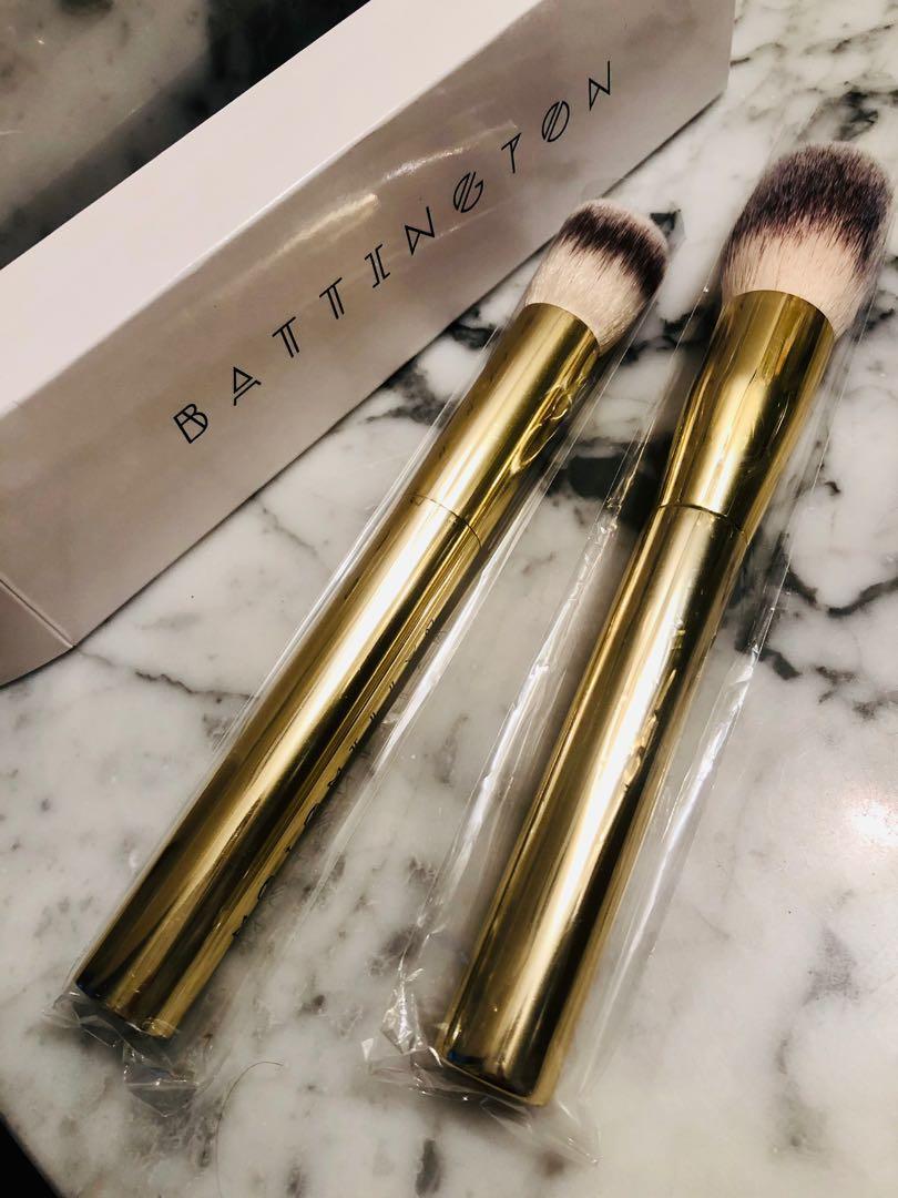 Battington Beauty Contour + Powder Brush Set