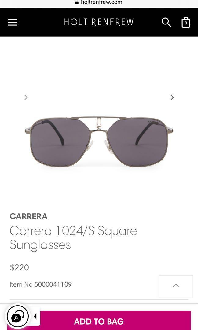 CARRERA - Carrera 1024/S Square Sunglasses (gold)